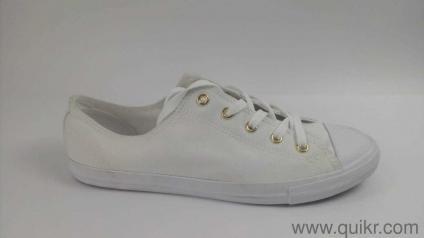 c2a1e0b5f18 Converse Converse Unisex White Gold Sneakers-7 UK India (40 EU) Footwear
