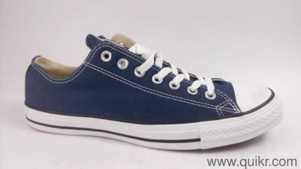 dc057cd93b0e Converse Unisex Navy Sneakers - 10 UK India (44 EU)(150767C)