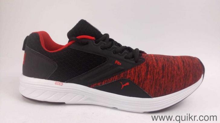 Puma Men s Comet IPD Black-High Risk Red Shoes-9 UK India (43 EU ... b329d9b4a