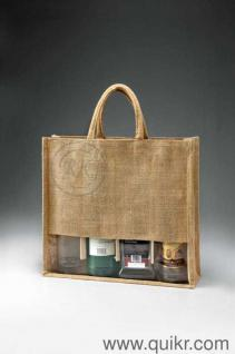 Puspajute (Fashionable eco-friendly Wine bags Manufacturer in India