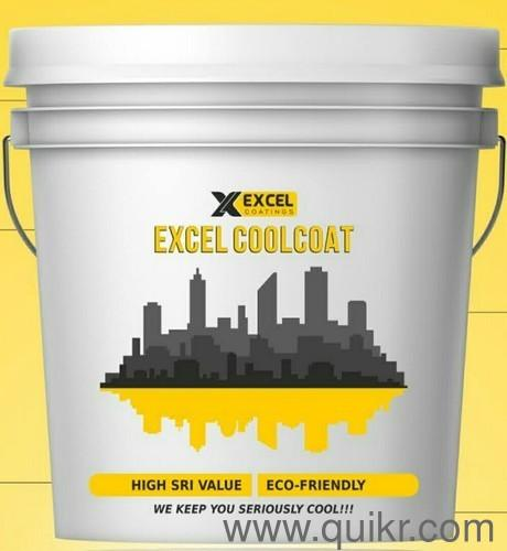 EXCEL CoolCoat - Heat Reflective High SRI Cool Roof Paint in