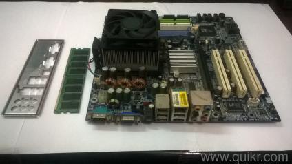 pc motherboard price | Used Computer Peripherals in Nashik