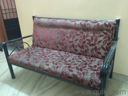 Sensational Black Rexin Sofa Used Home Office Furniture In Madurai Ibusinesslaw Wood Chair Design Ideas Ibusinesslaworg