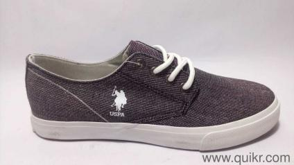 5a237e1a6fb5 US Polo Association Men s Tipper Grey Sneakers-7 UK India (41 EU)