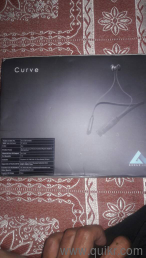 I can sale my bluetooth earphones Boult curve for sale Its new not a used  product with 12 months warentty bill and box