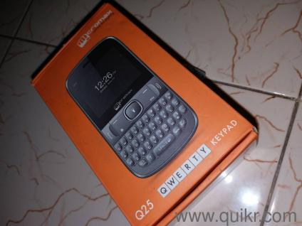 MICROMAX Q25, The condition of the phone is very new which has all the  accesories and phone box present   Phone+ charger+Box