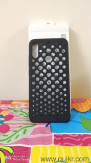 Perforated case for Redmi Note 7 Pro & Redmi Note 7 Black Color