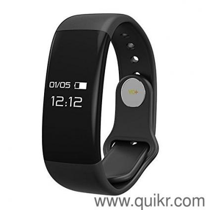 Yo+ H30 Smart Wristband OLED Touch Screen Display Bluetooth 4 0 Heart Rate  Monitor Sleep Fitness Tracker For Android, iOs (Black)