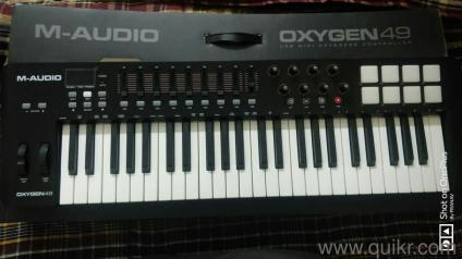 e63030ee1 Mint condition M-audio oxygen49 midi keyboard.
