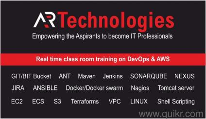 Best Class Room Training devops and aws - 8747008028 in Marathahalli