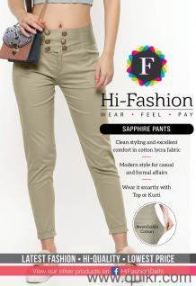 4a517715de2fdd Wholesale Manufacturer Women Ladies Pants Latest Style Lycra Cigarette Silk  Cotton Linen Party Wear Cullotes Palazzo