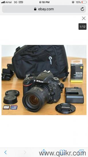 Nikon D750 24 3 MP Digital SLR Camera - Black (with DX VR 24