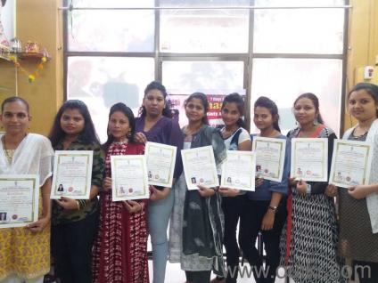 Beauty Parlour course with government certificate@ 12000 call