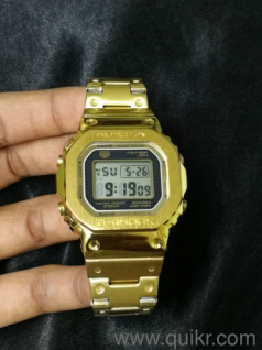 0efbc94d970 G-Shock Mens gold watch GMW - B5000TFG-9