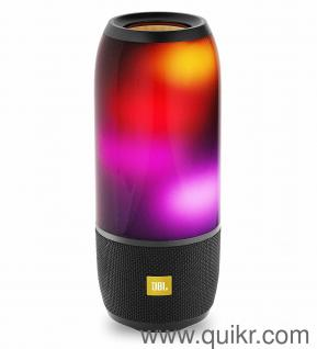 JBL Pulse 3 Wireless Portable Speaker with Vibrant Lightshow (Black)'Open  box' & 'Unused'