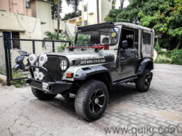 Grey 2014 Mahindra Thar CRDe 4x4 AC 41,000 kms kms driven in