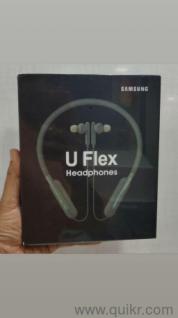 Samsung U Flex Earphones  Good Sound quality  With Haptic feedback   Bluetooth  Neckband Type  New  Imported   OEM