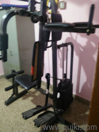 Gym iron dumbbell set used sport fitness equipment in guwahati