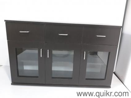 Neptune Cabinet Black Finish By Am Woods