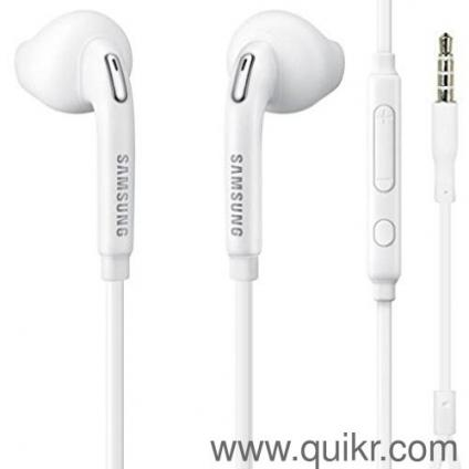 SAMSUNG S7/S6 EDGE ORIGINAL EARPHONES (NEW SEALED BOX ) 3 5MM JACK  COMFORTABLE TO ALL MOBILES