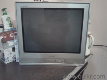 "Samsung-Plano (CRT TV) 21"" with original bill in good condition"
