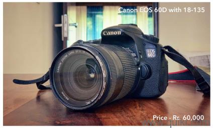 canon 60d | Used Cameras - Digicams in India | Electronics