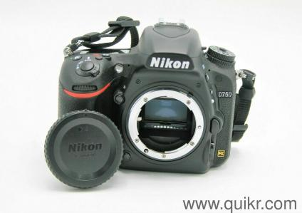 Nikon D750 Dslr Camera Body Only Refurbished - Collections