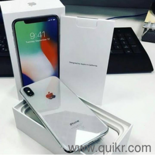 Apple IPhone X 256GB Dubai Master Copy COD Available All Over india Water  Resistant, Quikr Warranty At low prices