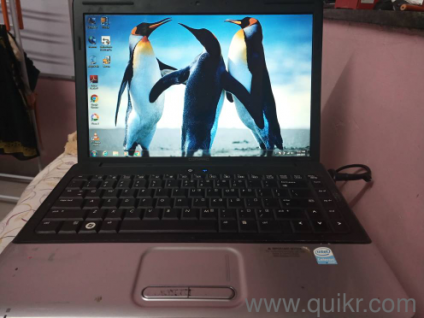 Compaq laptop full working condition with remote