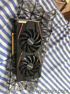 RX 470 4 GB Graphic card gigabyte 2 year old less used like new mint 1 year  warranty