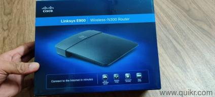 Cisco Linksys router in excellent condition