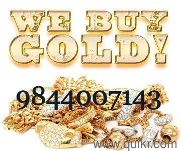 sell old Gold jewellery & Silver for spot Cash