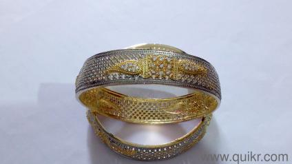 Beautiful Artificial Jewellery in American Diamond (AD) - Brand New Bangles  (Size 8)
