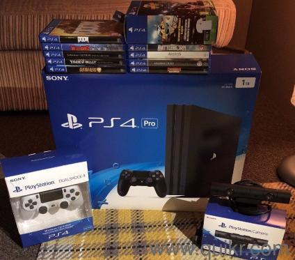 New Sony PS4 Pro 1TB with Extra Controller