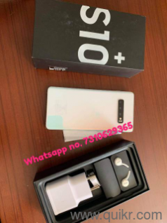 7310629365 SAMSUNG S10+ 128 GB INTERNAL STORAGE 4 GB RAM WITH ORIGINAL FACE  ID JIO SUPPORTED DUBAI FIRST MADE 99% ORIGINAL PRODUCT WITH 6 5 INCH HD