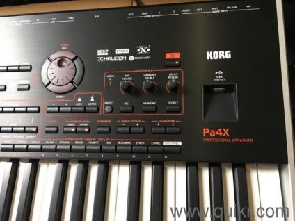 Korg Pa4x 76 keys plus Paas Speaker (Korg)&Keyboard Stand