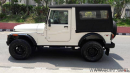 White 2016 Mahindra Thar CRDe 4x4 AC 6,000 kms kms driven in