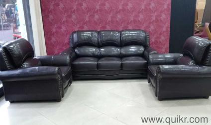 Black Colour 3 Seater Length 6feet Width 2 5 Feet 1 Seater Length 3 Feet Width 2 5 Feet