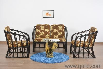 Enjoyable Danylo Bamboo 4 Seater Sofa Set Andrewgaddart Wooden Chair Designs For Living Room Andrewgaddartcom