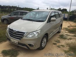 58 Used Toyota Innova Cars In Bangalore Second Hand Toyota Innova Cars For Sale Quikrcars