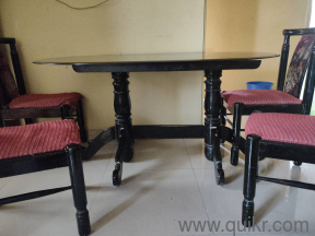 Glass top dining table - Gently Home - Office Furniture ...