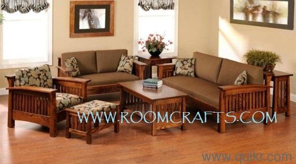 Sheesham Wood Sofa Sets Living Room Furniture Stores In