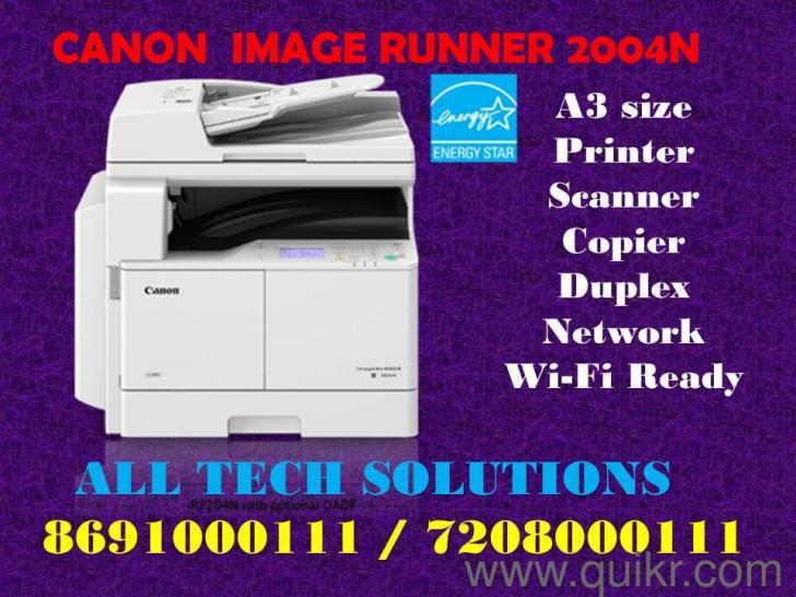 CANON WIRELESS A3 SIZE XEROX MACHINE CALL 8691000111