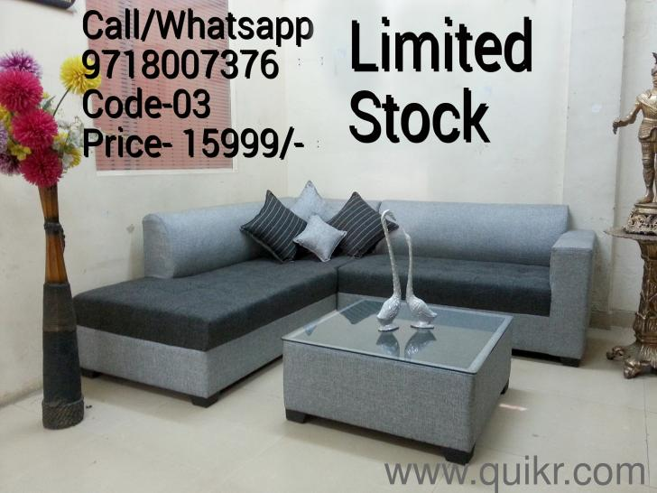 Modern Designer Sofa Set With Center Tasble Rs 17999 Only
