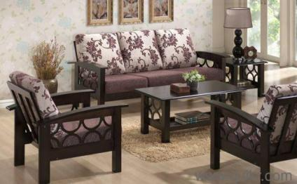 Wooden Sofa Set Offer Solid Wood Sofa 21 K Only Brand