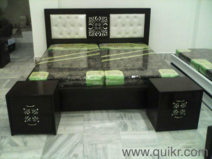 PREMIUM Double Bed King Size With Storage And Ten Years Warranty Also