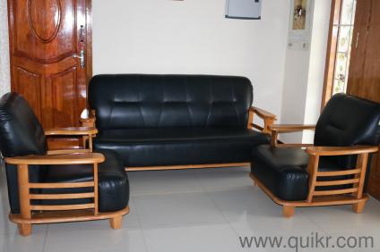 Old Teak Wood Sofa Set For Sale | Used Home   Office Furniture In  Coimbatore | Home U0026 Lifestyle Quikr Bazaar Coimbatore
