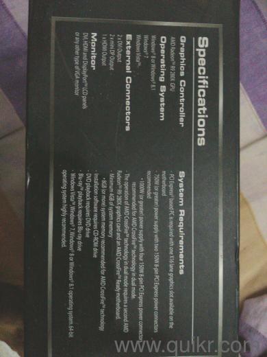 Saphire Tri-X R9 280x 3GB GDDR5 Amd Radeon R9 Series (Brand