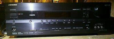 onkyo ht-r560 7 1 full hd 1080p amp total 9 channel - Used Music