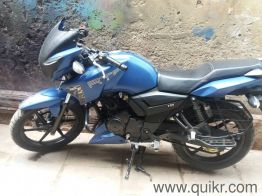 7 Second Hand Tvs Apache Rtr 160 Bikes In Varanasi Used Tvs